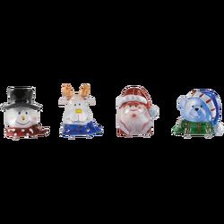 Dekorativna LED rasvjeta, 4 figurice