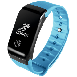 SAT pametni, Heart Rate monitor, Fitness OLED, plavi