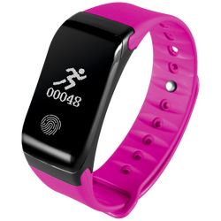 SAT pametni, Heart Rate monitor, Fitness OLED, pink