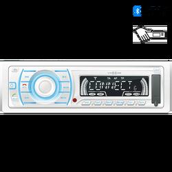 Auto radio, 4 x 45W, BT, FM RDS/USB/AUX, vodootporan