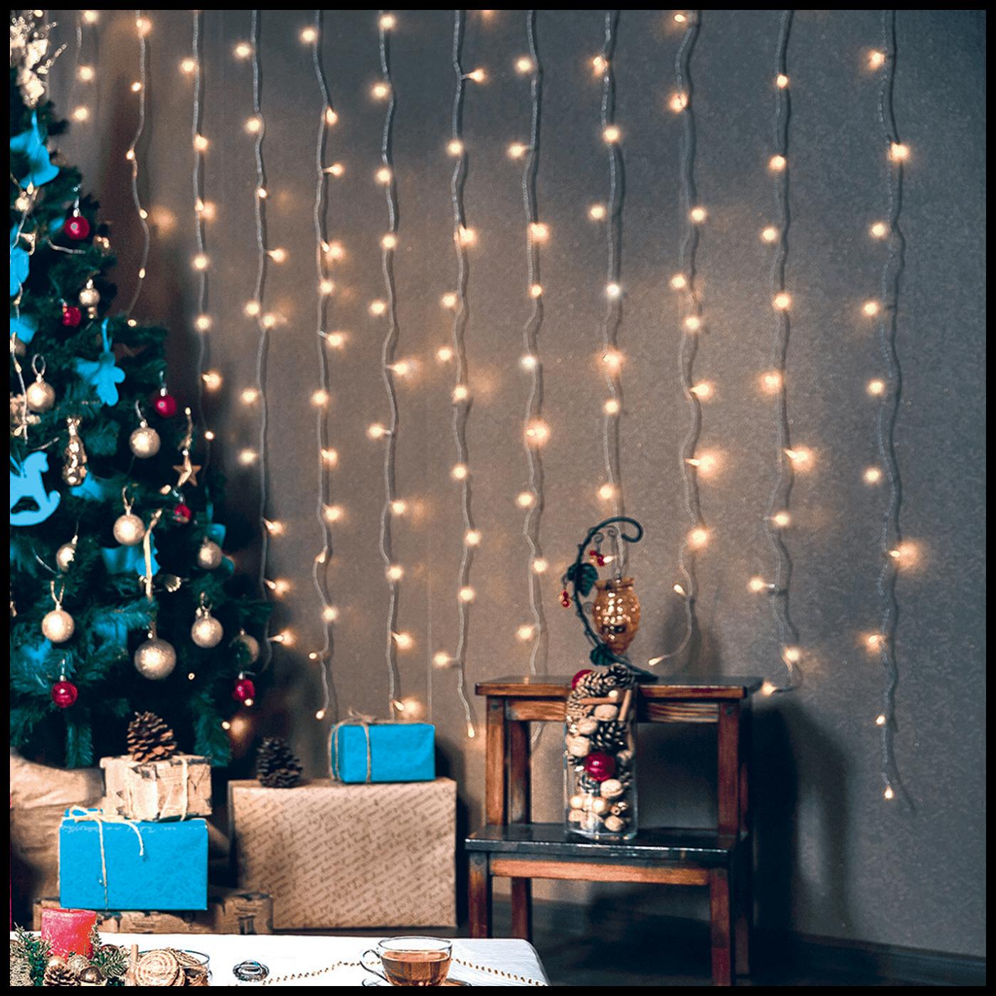 Dekorativna LED rasvjeta, zavjesa