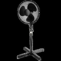Ventilator sa postoljem, 100-130 cm, 45W, ±85°, crna
