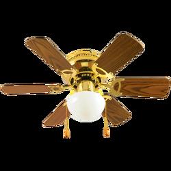 Ventilator stropni sa rasvjetom, E27, 1 x 60W