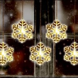 Dekorativna LED rasvjeta, pahuljice