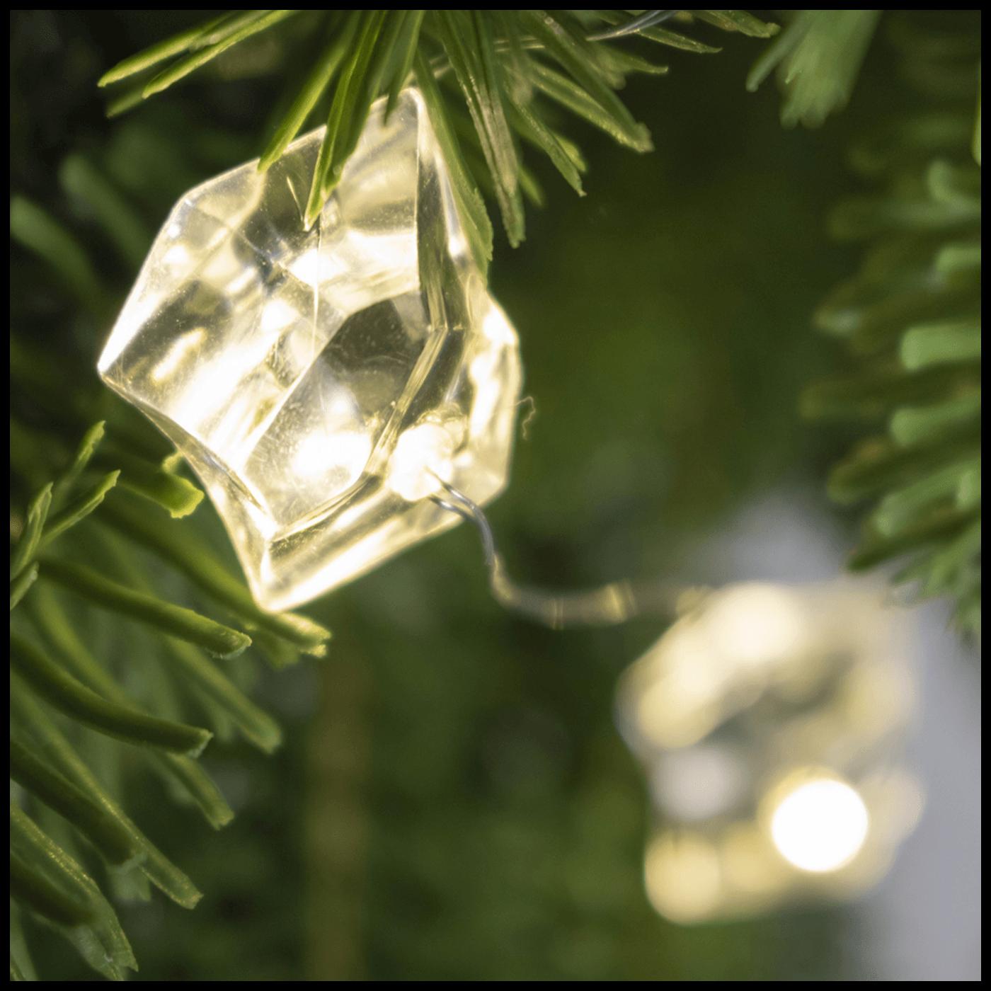 Dekorativna LED rasvjeta, kristali