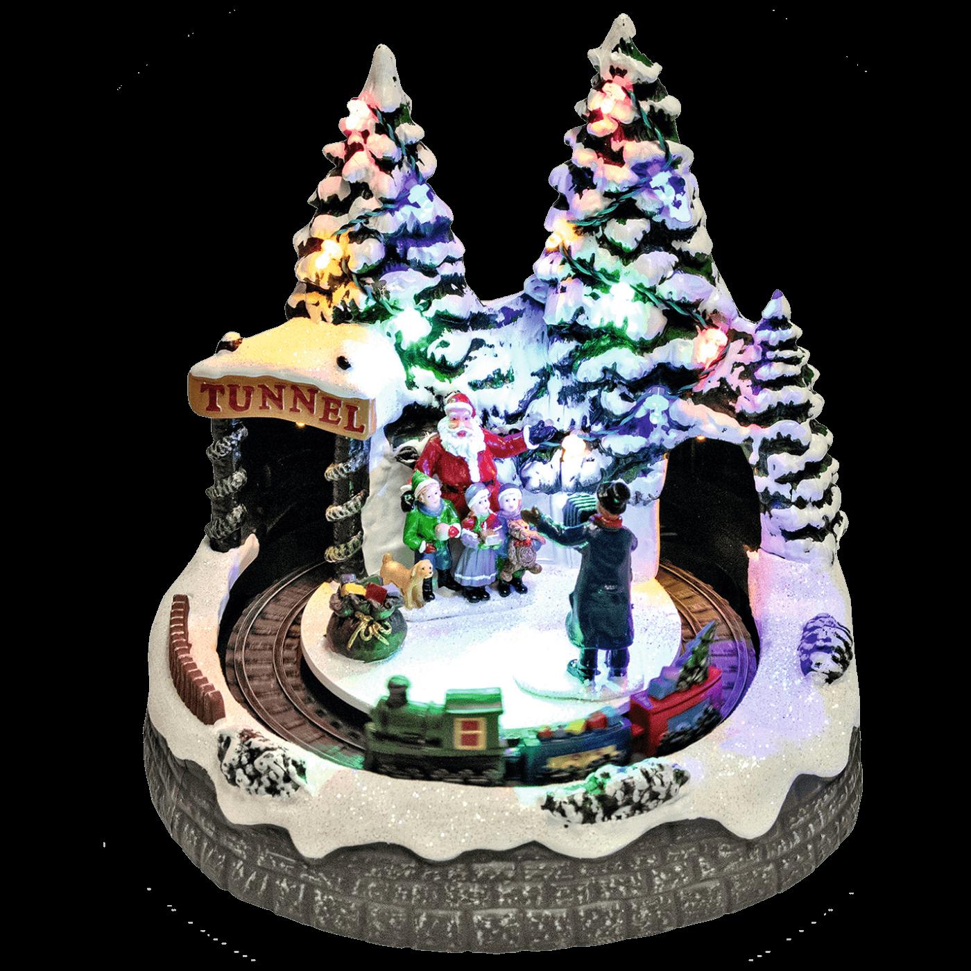 Dekorativna LED rasvjeta, Djed Mraz, fotograf, djeca