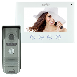 Žični video interfon, set, 7 inch LCD display, WiFi