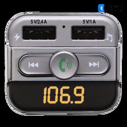 FM modulator 4in1, BT handfree, 12V/24V, 3.4A punjač