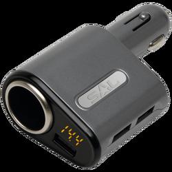 Auto punjač za smartphone, 5V / 3.1 A max., 3 x USB