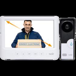 Žični video interfon, 7 inch LCD ekran, elekt. otvaranje vrata