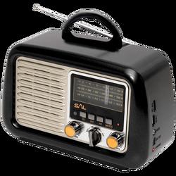Retro radio + BT bežični zvučnik, 4in1, FM, MP3, AUX