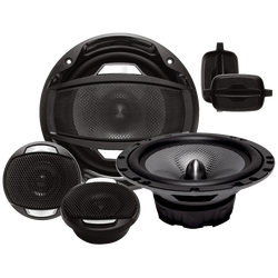 Auto zvučnici, set, 2 x 165 / 2 x 35 mm, 200 W, 4 Ohm