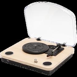 Retro gramofon drvo + BT bežični zvučnik, 4in1, FM, MP3, AUX
