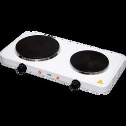 Električno kuhalo, 2 ploče - 15/18 cm, 2500 W, bijela