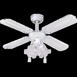 Ventilator stropni sa rasvjetom, E27, 3 x 60W