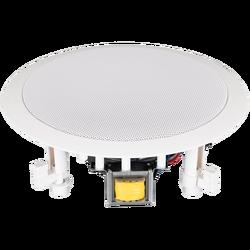 Zvučnik stropni 10W, 110V, ∅ 165 mm, 8 Ohm, bijela boja