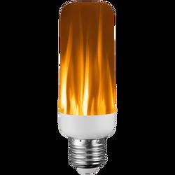 Sijalica, 2in1, LED, E27, 220V AC, efekt baklje
