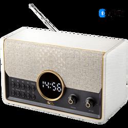 Retro radio + BT bežični zvučnik, 7in1, FM, MP3, alarm