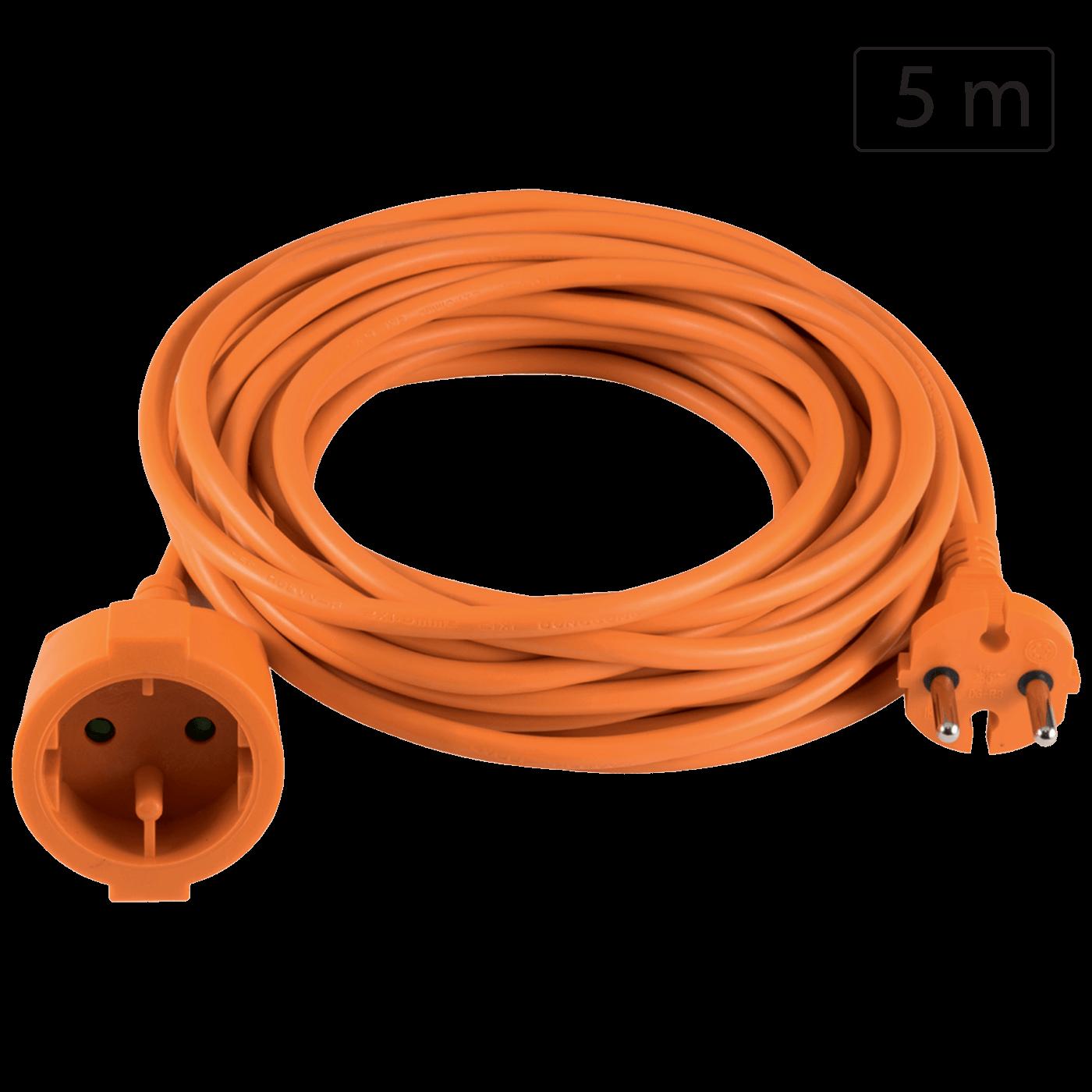 Produžni strujni kabl 1 utičnica, 5m, H05VV-F 3G 1,5mm²