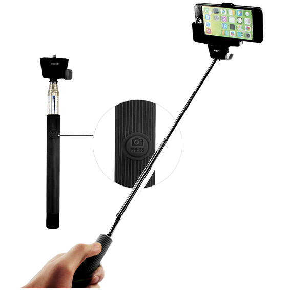 ConCorde - Selfiestick monopod, Bluetooth