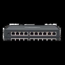 PoE mrežni switch, 10 port RJ-45, 8 PoE, rack ugradnja
