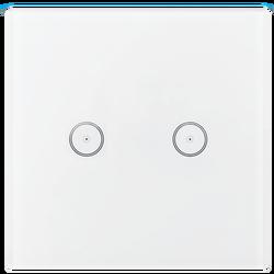 Prekidač, zidni, za dva uređaja