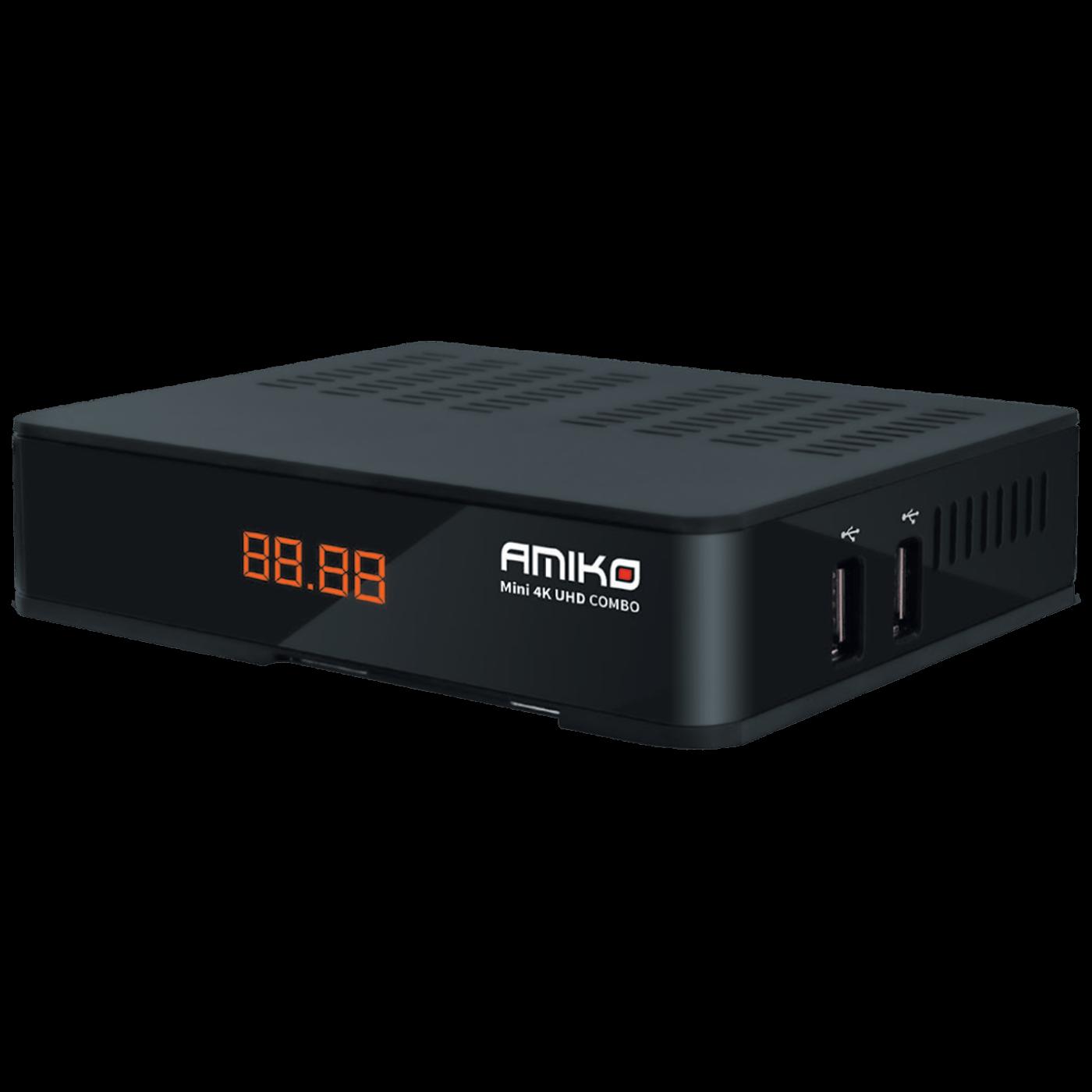 Prijemnik combo, DVB-S2X+T2/C, 4K UHD, USB PVR, Ethernet