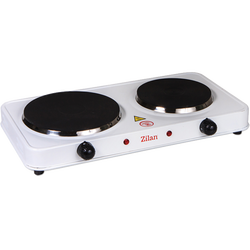 Električno kuhalo, 2 ploče - 15.5/18.5 cm, 2500 W, bijela