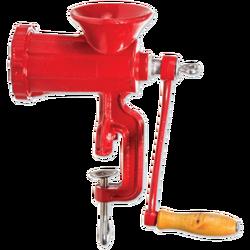 Mašina za mljevenje mesa, ručna, crvena