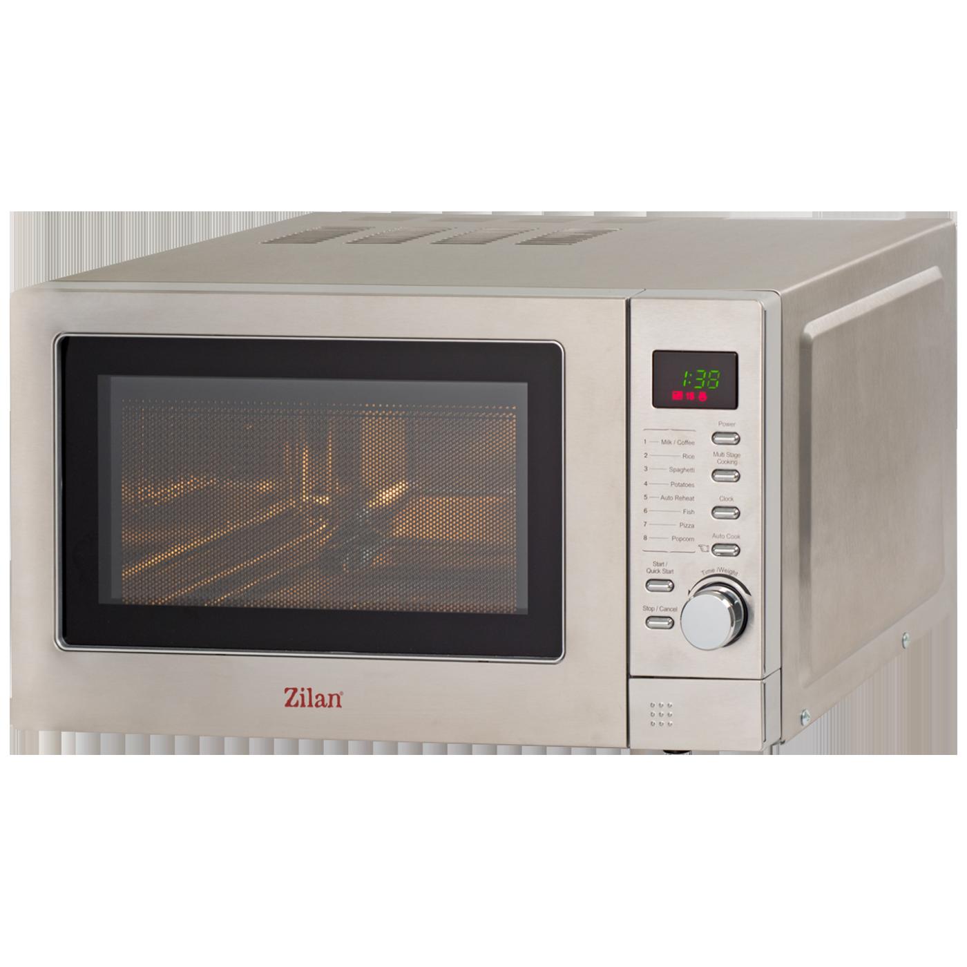 Mikrovalna pećnica, zapremina 20 l, 800 W, INOX
