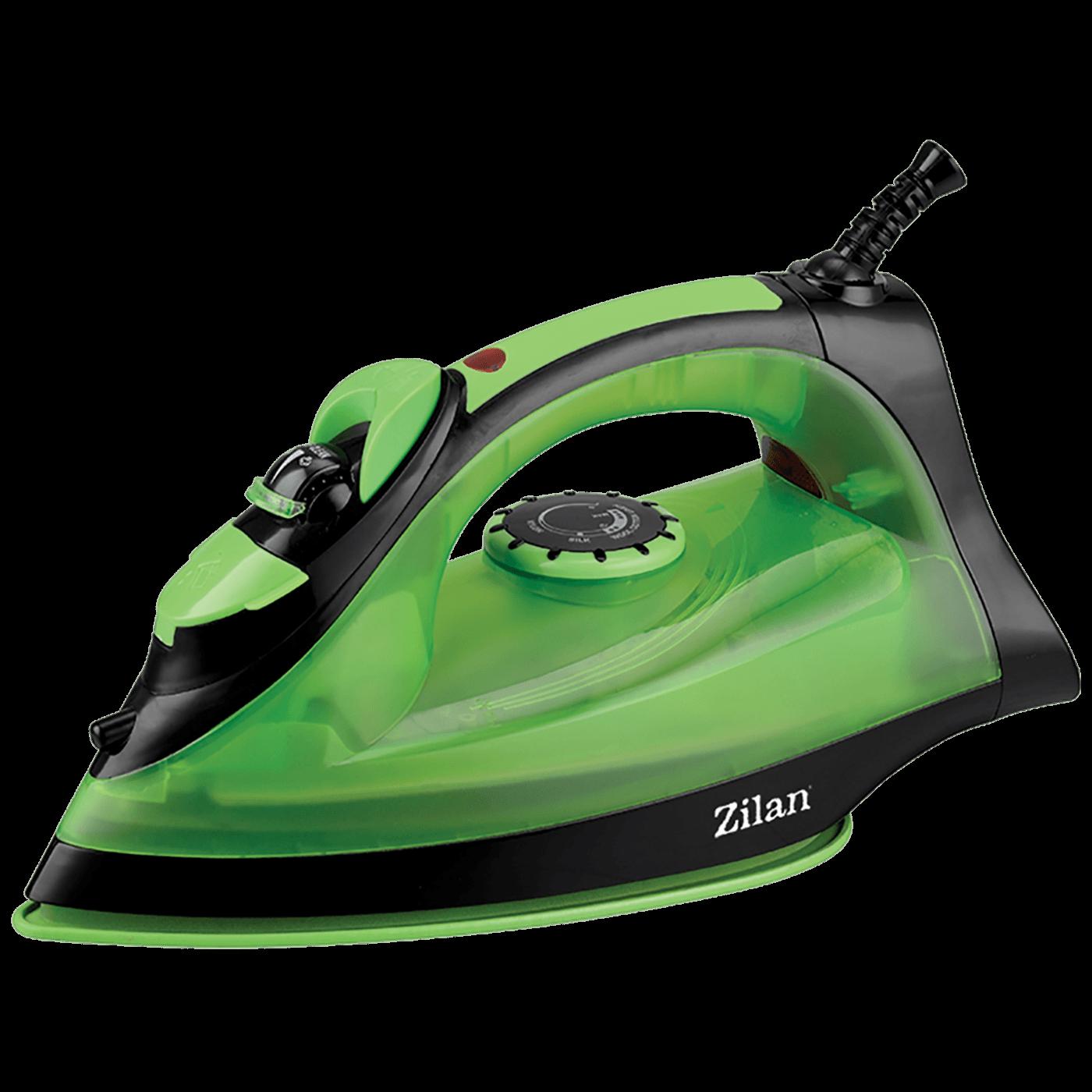 Pegla na paru, 2200 W, Anticalc And Drip, zeleno/crna