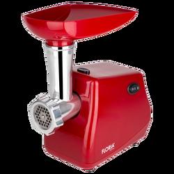 Mašina za mljevenje mesa, snaga 1300 W, crvena