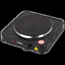 Električno kuhalo, 1 ploča - 15 cm, 1000 W, crna