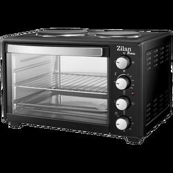 Mini pećnica sa grillom, zapremina 35 l, 3200 W, crna