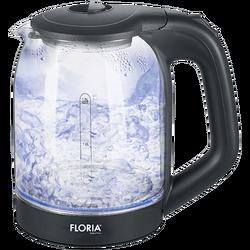 Kuhalo za vodu, zapremina 1,7 l, 1850-2200 W, staklo