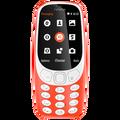Nokia - 3310  Red