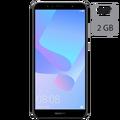 Huawei - Huawei Y6 (2018) Black