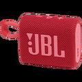 JBL - JBL GO 3 Bluetooth Speaker Red