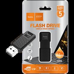 USB Flash Drive 64GB, USB 2.0, crni