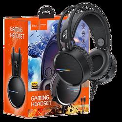 Slušalice sa mikrofonom, gaming, dužina kabela 2.4 met, crna