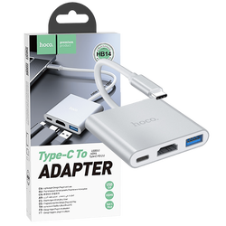 Konverter USB type C to USB3.0/HDMI/PD