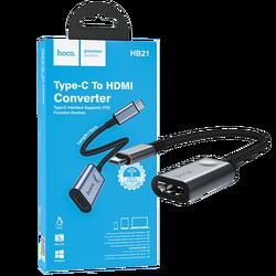 Konverter USB type C na HDMI, 4K