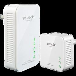 Mrežna strujna utičnica, set, 200/300Mbps, LAN/WiFi