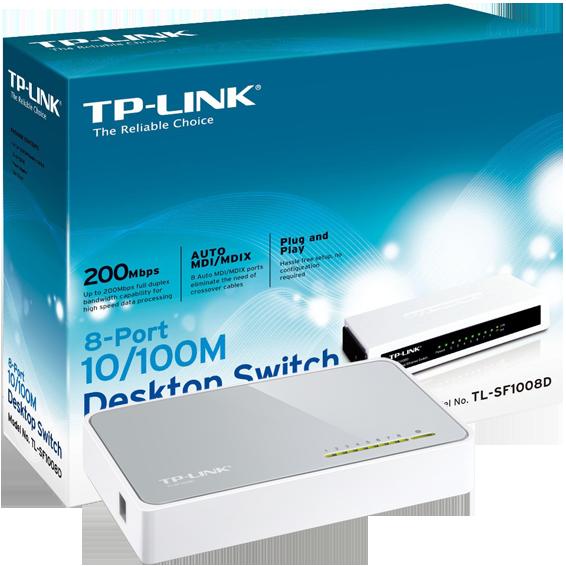 TP-LINK - TL-SF1008D