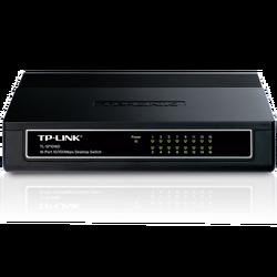 16-portni switch 200Mbps, 10/100 Mbps, , RJ45