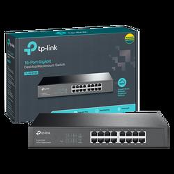 16-Portni switch, 16x10/100/1000 Mbps