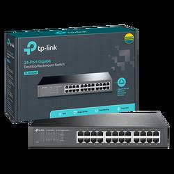 24-Portni switch, 24x10/100/1000 Mbps