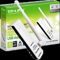 Wi-Fi mrežna kartica, 2.4 GHz, 4 dB, 150 Mbps