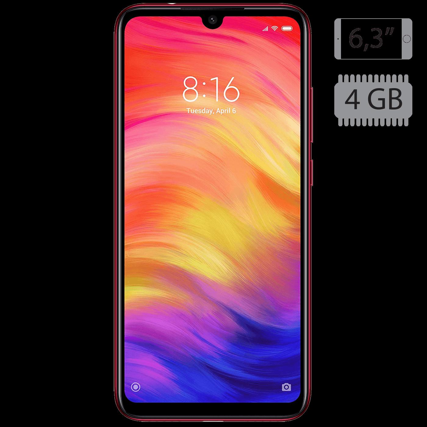 Xiaomi - Redmi Note 7 Nebula Red