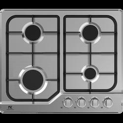 Ugradbena plinska ploča za kuhanje, INOX